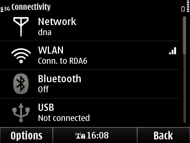 Nokia E6 Connectivity Options