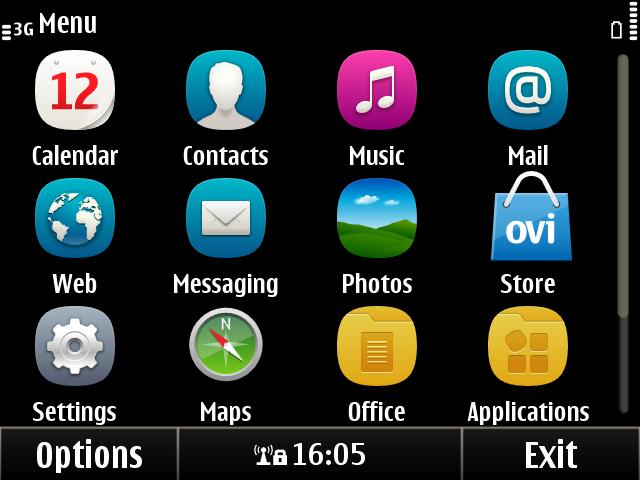 Nokia E6 ScreenShots