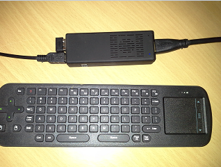 Android Controlled with Wireless Keyboard And Mouse
