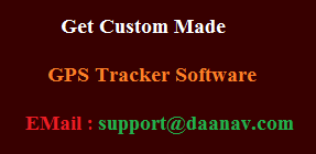 Custom GPS Tracker Software