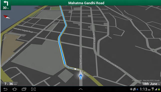 Google GPS Navigation